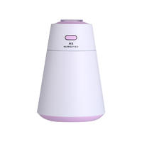 Tower shaped light design with large water capacity fashion air humidifier